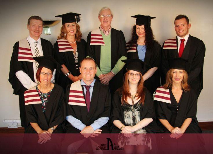 Academy graduates looking smart!