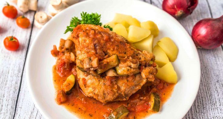 Zöldséges provence-i csirke recept | APRÓSÉF.HU - receptek képekkel