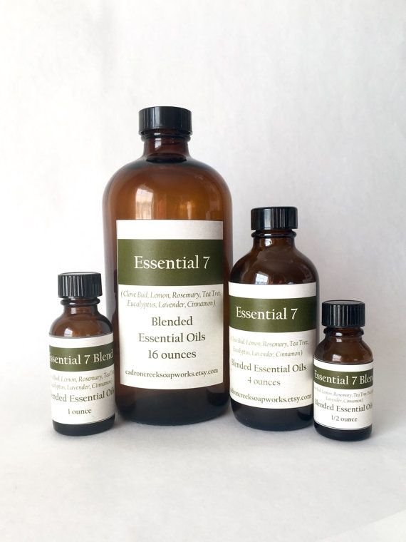 Essential 7 Blended Essential Oils, aromatheropy, wellness, home cleaning, bulk essential oils, soapmaking supply