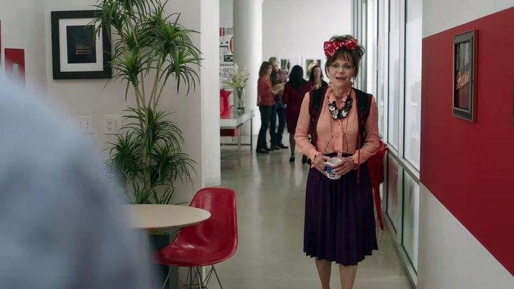 Doris Miller as portrayed by Sally Fields in Hello My Name is Doris