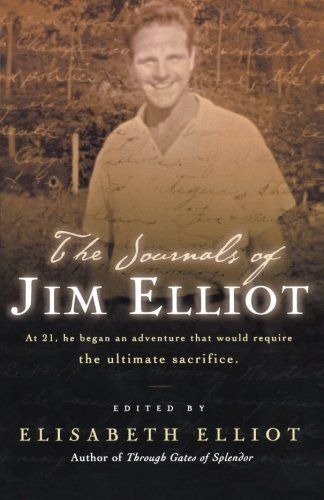 The Journals of Jim Elliot by Jim Elliot http://www.amazon.com/dp/0800758250/ref=cm_sw_r_pi_dp_.Xzdub12JE1FR
