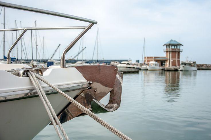 Ormeggiando al Porto della Maremma #portodellamaremma #torretta #tirreno
