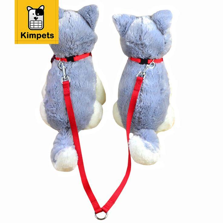 Cute Two Ways Double Leash Couple Pet Dogs Nylon Walking Tool De Perro arnes perros #Affiliate