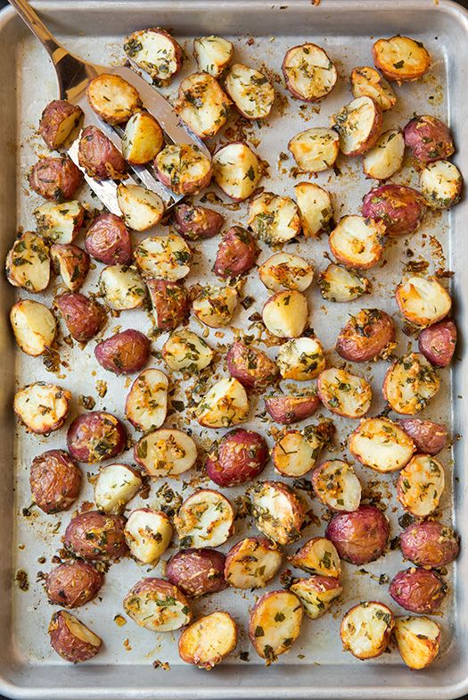 I'm certain that roasting veggies is the ultimate way to enjoy them. These Parmesan-Herb Roasted Potatoes...