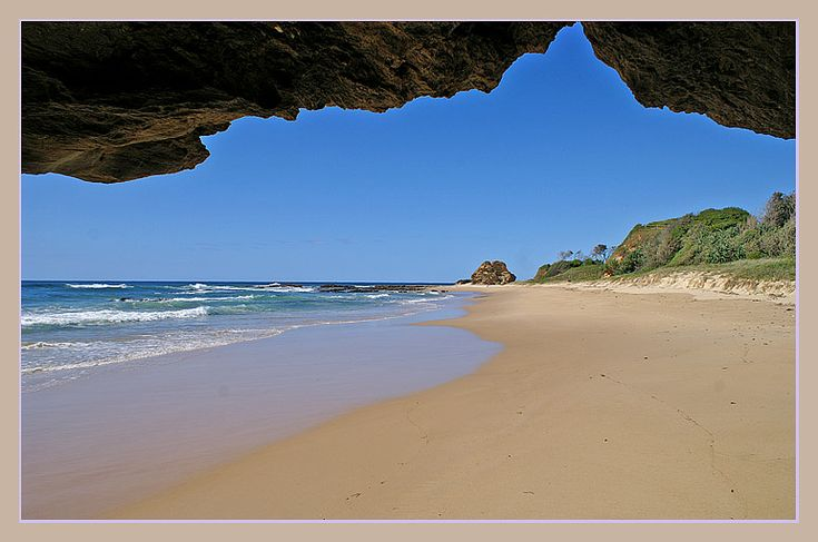 Valla beach, close to Sacred Mountain, Coff's Harbour, New South Wales_ East Australia