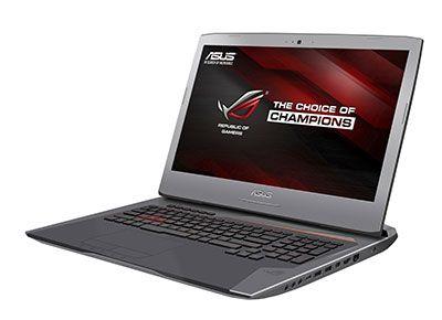 G752 : nouveau PC portable gaming Asus ROG - Un nouvel ordinateur portable gaming doté d'un processeur Intel Core i7 de 6e génération et d'une carte graphique NVIDIA GeForce GTX 980M. Mémoire DDR4 extensible jusqu'à 64 Go pour de meilleures ...