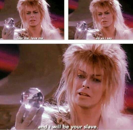 330 best images about Labyrinth on Pinterest | David bowie ... Labyrinth Movie Quotes Jareth