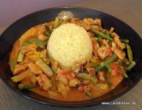 veganer afrikanischer Erdnusstopf mit Couscous - vegane Rezepte auf Laubfresser