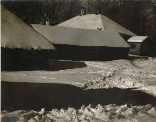 Winter :: Jan Bulhak Collection :: Digital Collections :: University at Buffalo Libraries. Click the image to visit the University at Buffalo Libraries Digital Collection and learn more about the photograph. #ublibraries #polishroom #JanBulhak #Poland