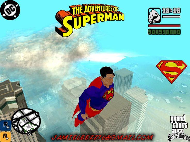 GTA San Andreas Superman Mod |