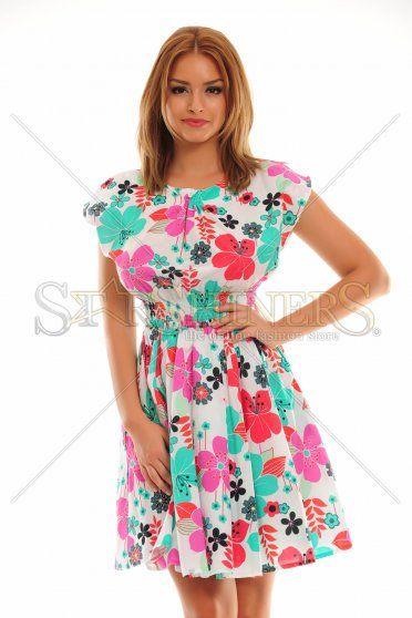 Unbridle Contrast Pink Dress