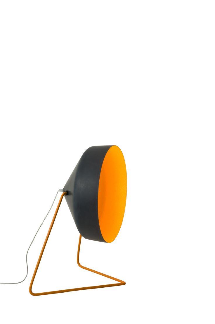 Orange floor lamp - Black And Orange Floor Lamp In Es Artdesign S Lavagna Blackboard Designs