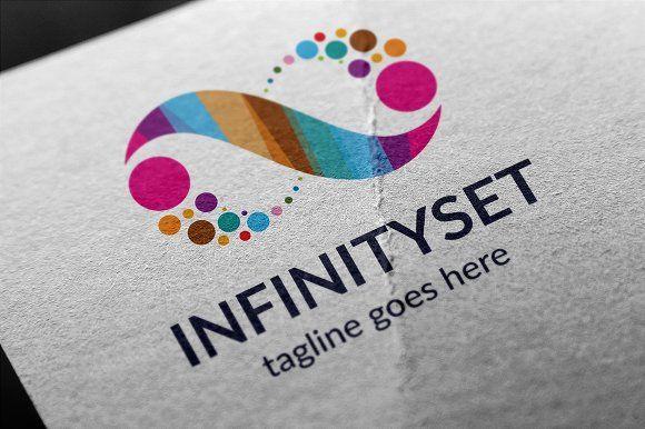 Infinity Set Logo by tkent on @creativemarket