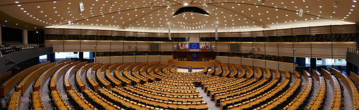 Hemicycle, European Parliament, Brussels