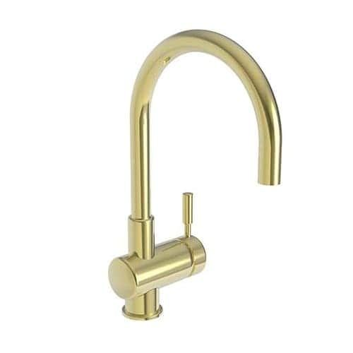 Newport Brass 2008 East Linear Single Handle WaterSense Certified Bar Faucet with Metal Lever Handle (