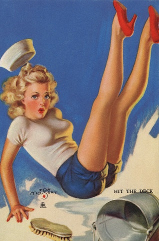 All About the Pin-up girl from WWII on. The rest of the site is fantastic, too.