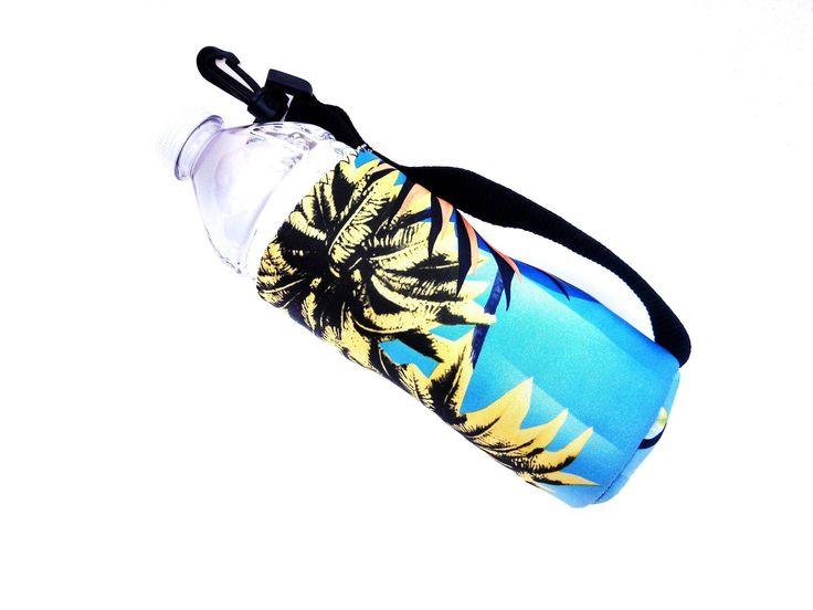 Water Bottle Cooler 16oz - Haole Green