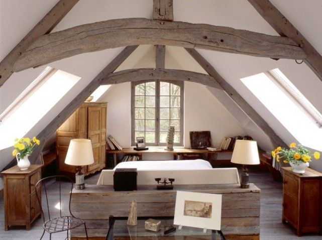 87 best Chambre cathedrale images on Pinterest Attic spaces - faire une maison avec sketchup