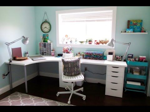 Craft Room Tour 2016 - YouTube