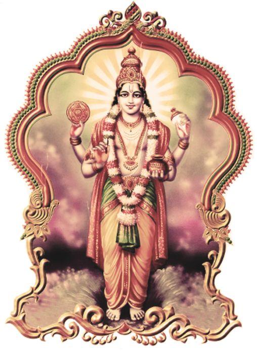 Lord Dhanvantari Image-yu211