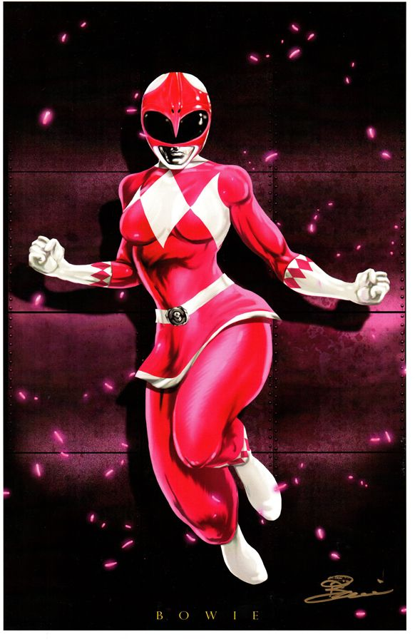 Pink Ranger by Damon Bowie                                                                                                                                                                                 Más