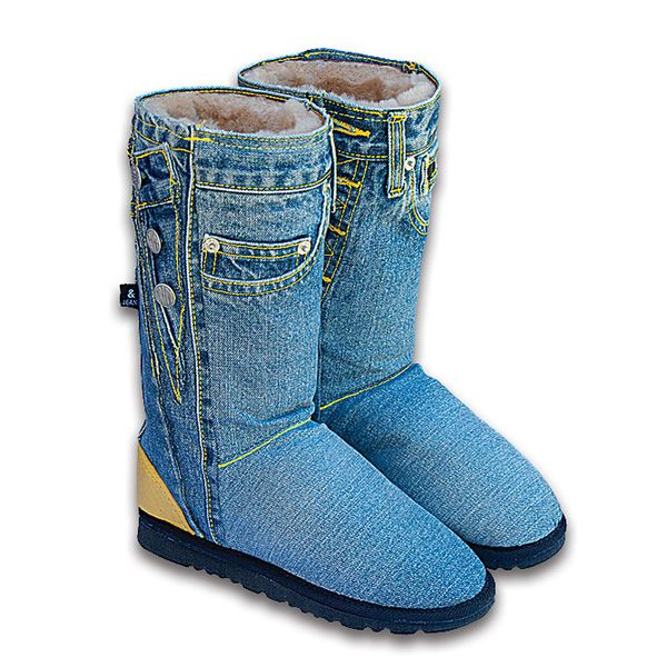 Recycled jeans Uggs | 18 Things You Probably Shouldn't Make Out OfJeans