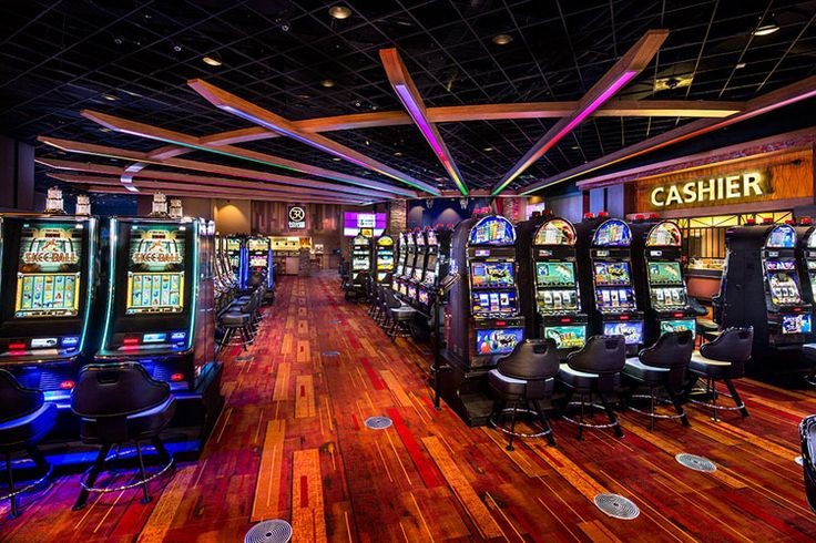 Architectural Lighting Design - Cherokee Casino Fort Gibson, Fort Gibson, Oklahoma, USA
