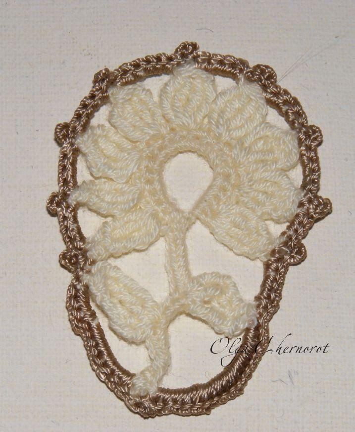 How To Crochet Flowers Thick Petals Tutorial 44 : 477 mejores imagenes sobre Crocheted flowers en Pinterest ...