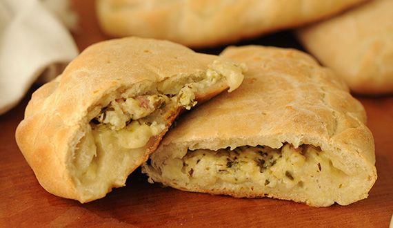 Calzone Italiano - Platillo Gourmet Italiano. (Visita el link para obtener la receta)