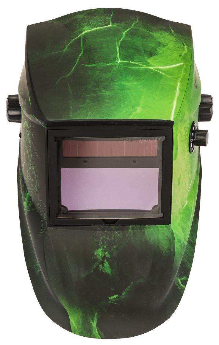 Forney Advantage Series Edge Auto Darkening Welding Helmet Green