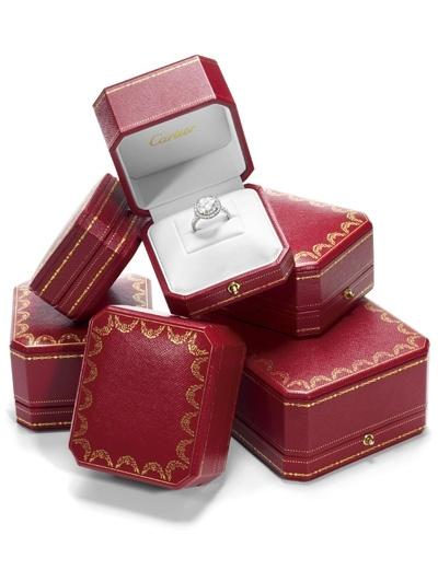 Verlovingsringen van Cartier