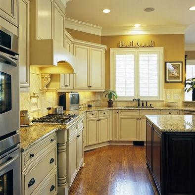 White Kitchen Yellow Walls white kitchen cabinets » white kitchen cabinets yellow walls