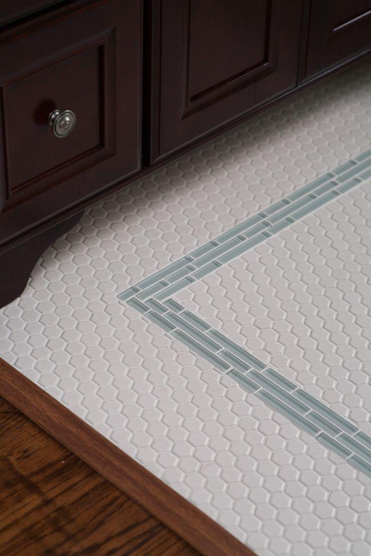 best 40 bathroom hexagon tile images on pinterest home decor. Black Bedroom Furniture Sets. Home Design Ideas