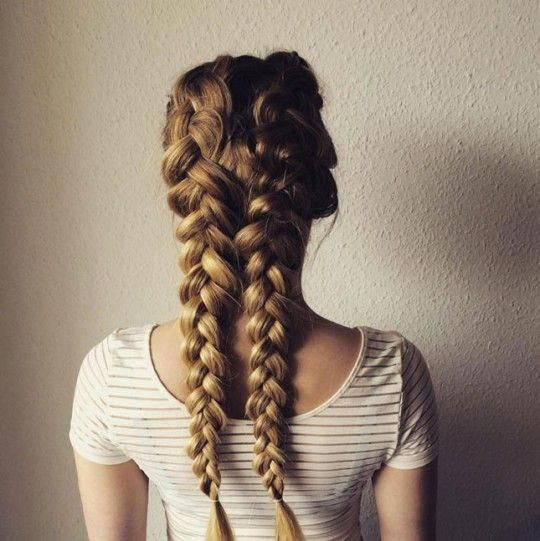 Hairstyle inspiration: 7 ways to drink boxer braid…