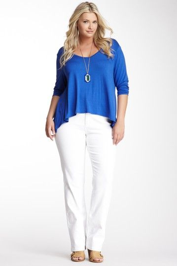 Marilyn Straight Leg Jean by NYDJ on @HauteLook