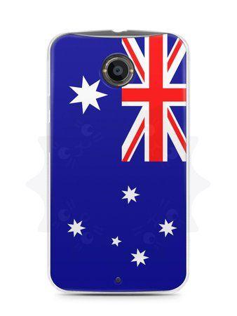 Capa Capinha Moto X2 Bandeira da Austrália