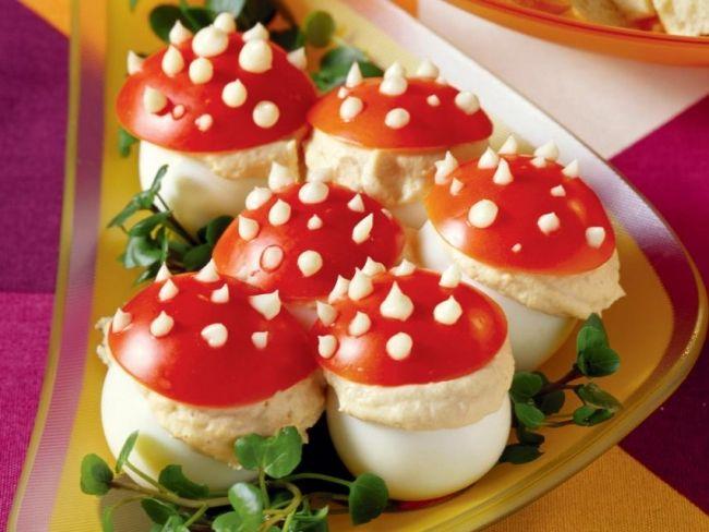 Jajka muchomorki na Wielkanoc