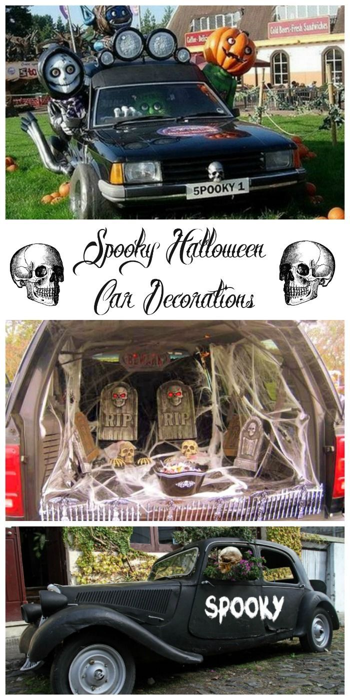 These Halloween Car Decorations Show That You Can Do More Than