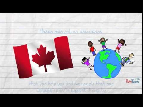 Promoting Canadian Identity and Diversity in Your School Library - YouTube