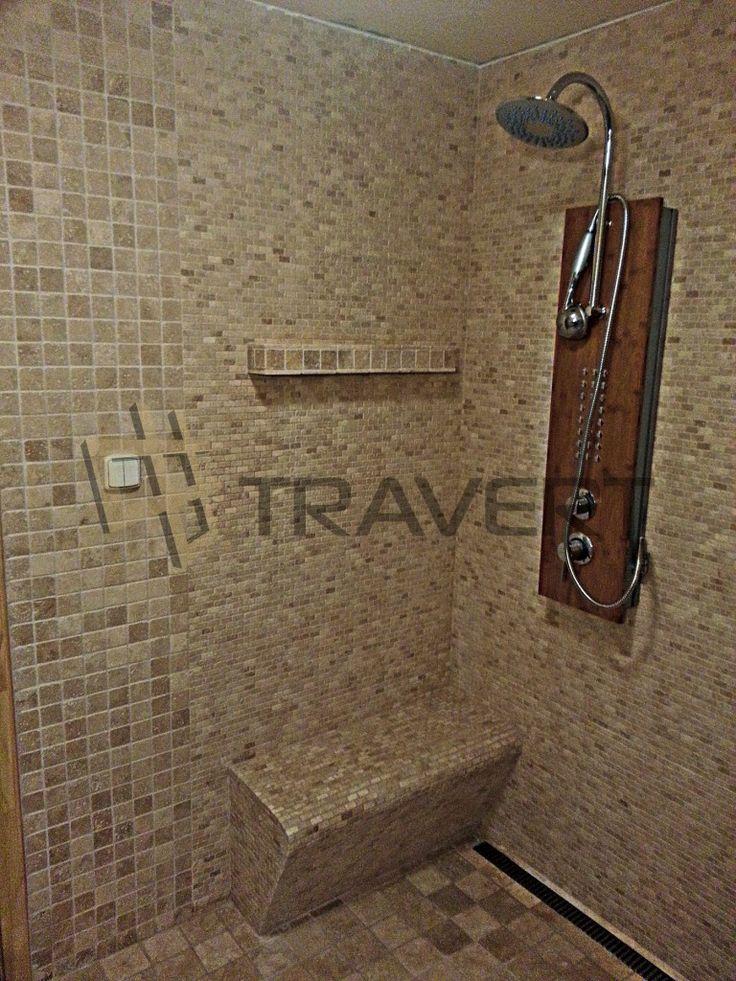 Krásna a útulná kúpeľna z travertínu | Travert s.r.o. http://travert.sk/referencia/dom-v-devine-cast-2-vrchna-kupelna-z-travertinu