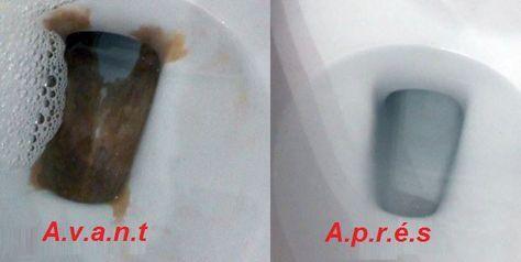 Une méthode simple pour éliminer facilement le tartre de vos toilettes !