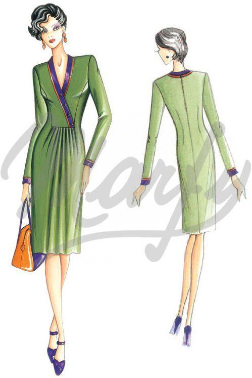 Model 2941 | Sewing Pattern Dress