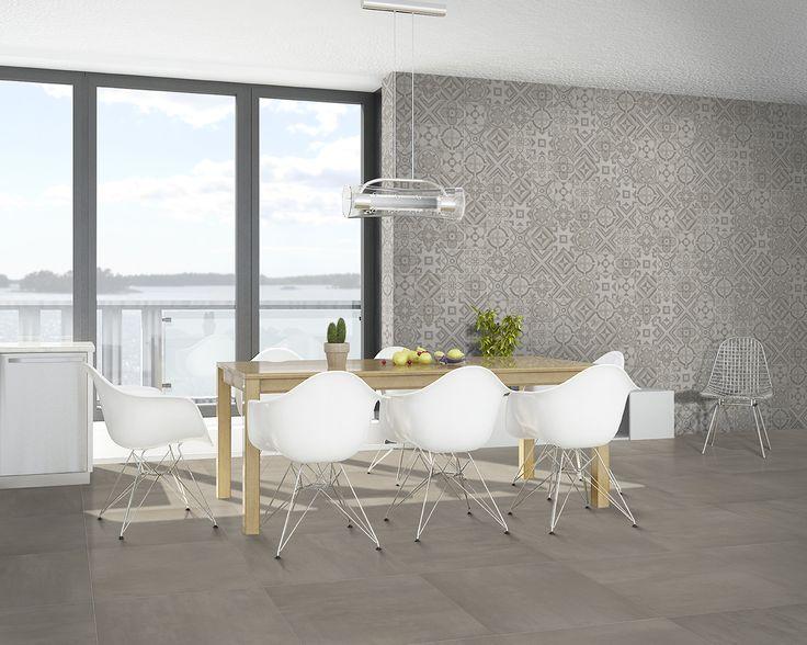 Terratinta betongreys warm tre 60x60 marrakech warm mix for Carrelage 20x20
