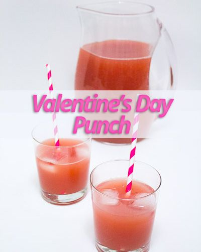 valentine alcohol punch