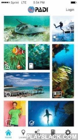 PADI - Scuba Diving Essentials  Android App - playslack.com ,  The PADI App provides divers a new way to experience the underwater world – on the go, whenever and wherever they need it. With the revamped PADI App you can locate PADI Dive Centers and Resor