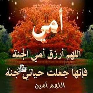 اللهم ارزق امي الجنة