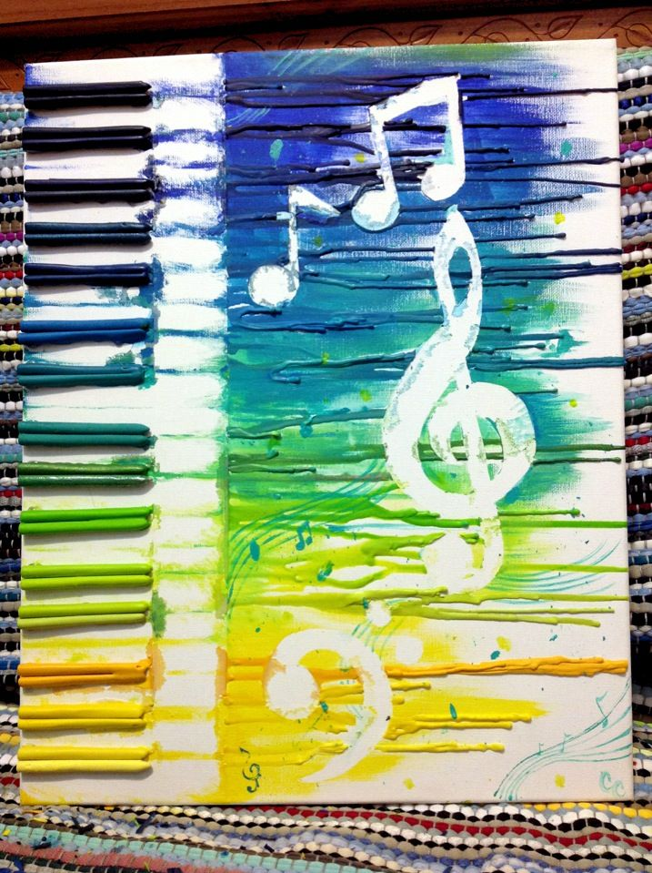 Abstract Music in Color by CrystalmChavez.deviantart.com on @deviantART