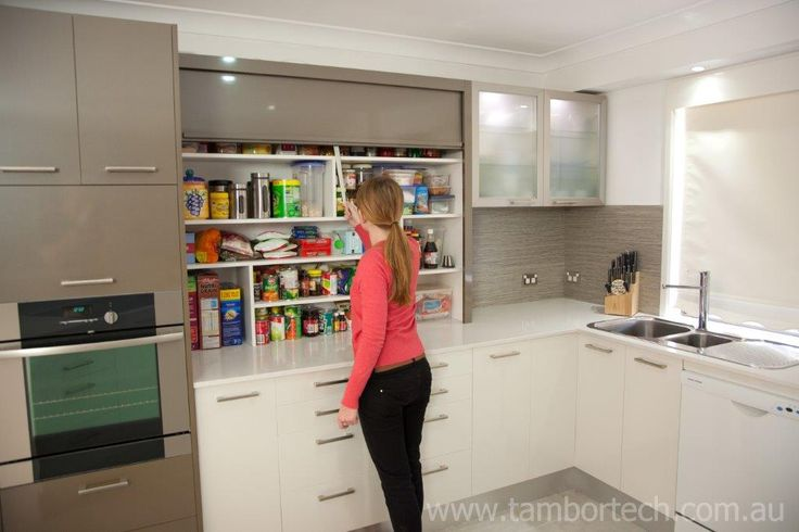 Tambortech Door Benchtop Pantry - kitchen pantry organisation solution.