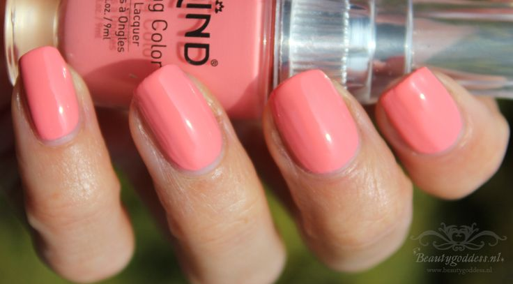 Flamingo pink nailpolish – Beautygoddess.nl
