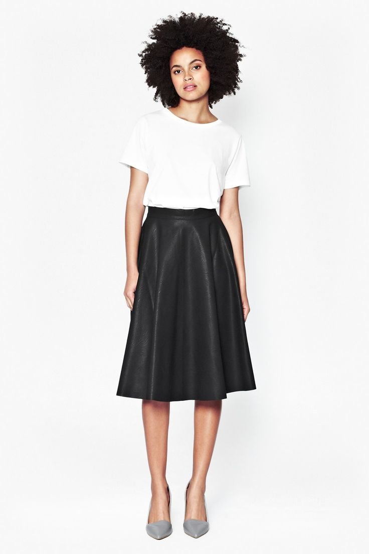 French Connection leather skirt £87